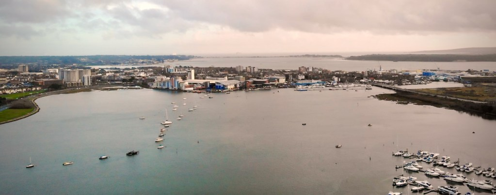 Poole Harbour is the training area