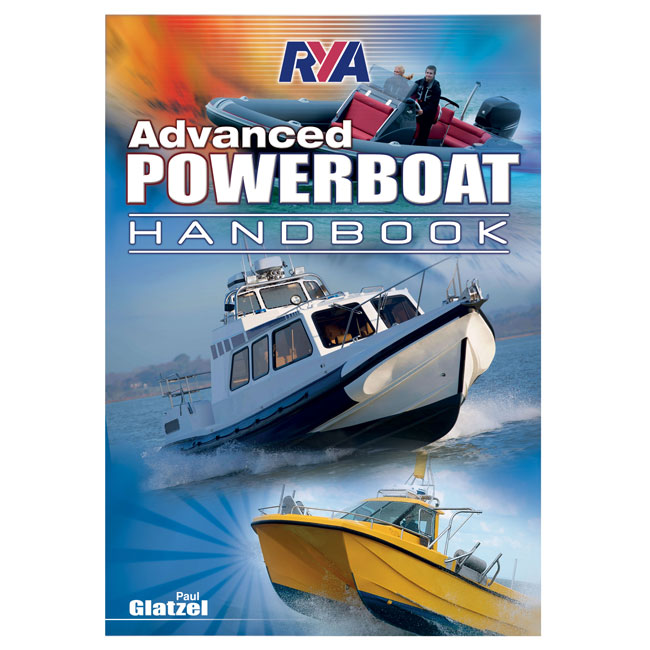 RYA Powerboat Book to Identify the  Powerboat Advanced Course