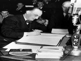 Newfoundland Joining Confederation