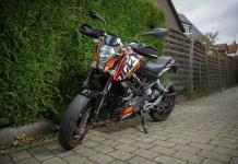 KTM RC 390 Sports Bike