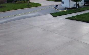 Sealing Concrete Driveway