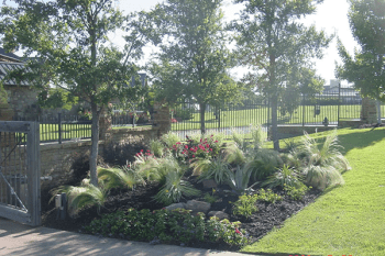 Seasonal mulch & trimming keeps your landscape looking fresh and clean