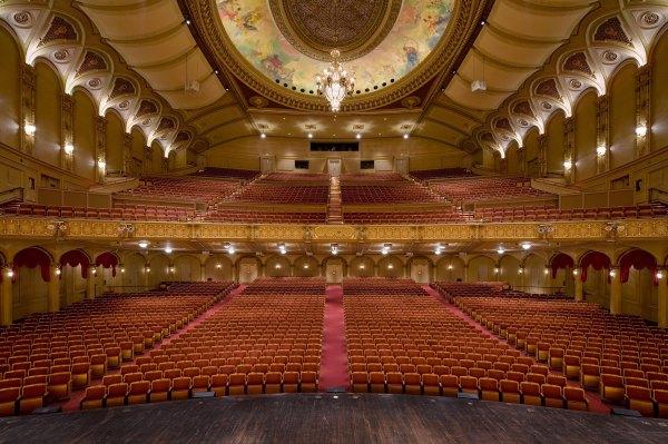 Orpheum Proscenium Architecture Interiors