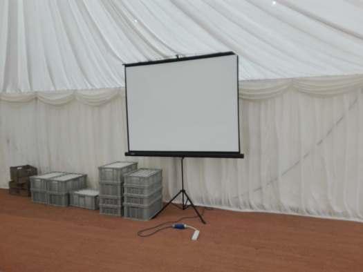 6ft screen hire Surrey