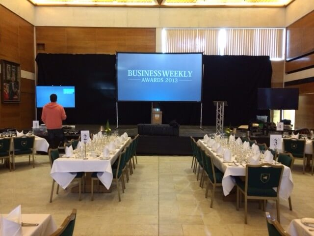 Big Screen Hire for Events Conference