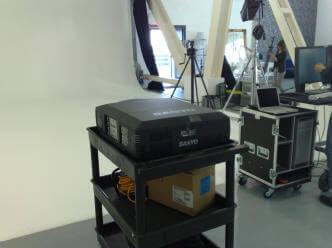 big projector hire