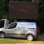 led screen hire truck