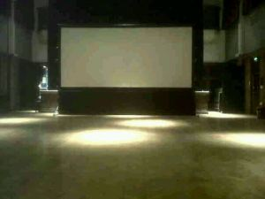 Digital Cinema Screens Hire