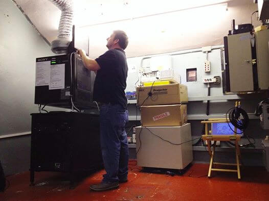 projectionist hire