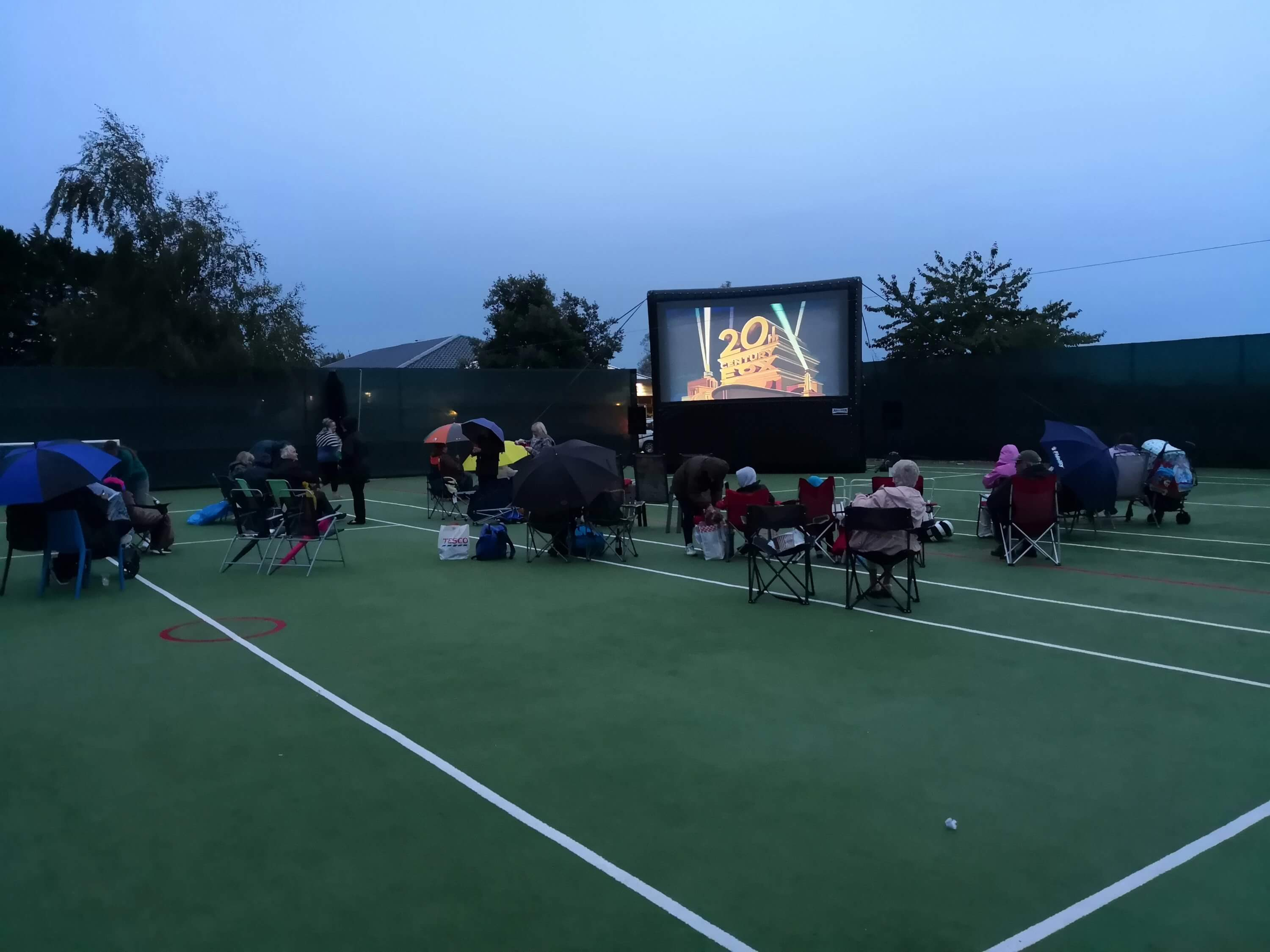 Poole Outdoor Screen Hire