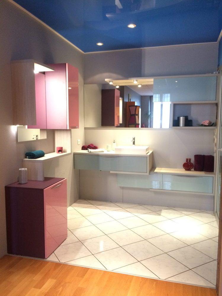 Une nouvelle salle de bain au showroom