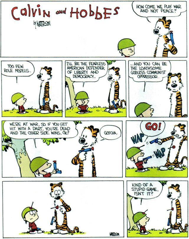 How I miss Calvin and Hobbes