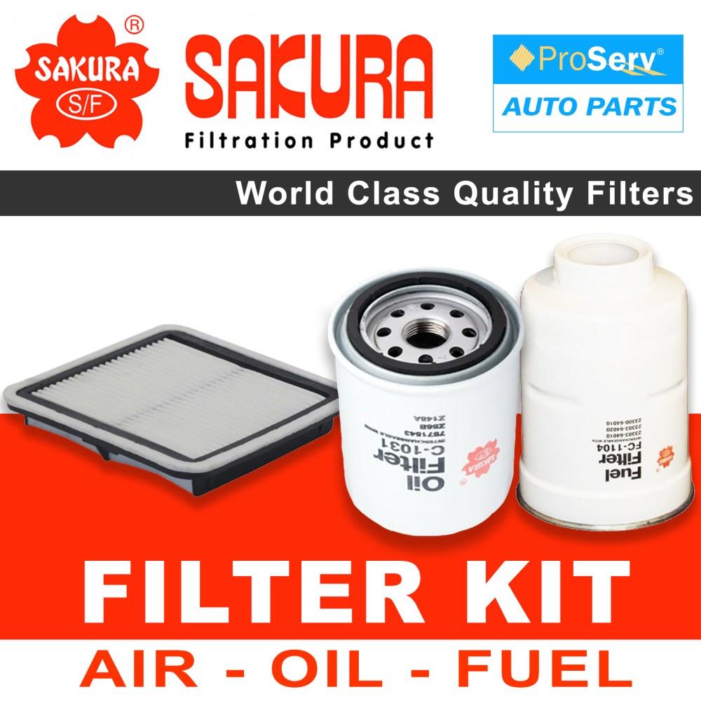 medium resolution of oil air fuel filter service kit for subaru impreza 2 0l ej204 hatch 08 2007 03 2012