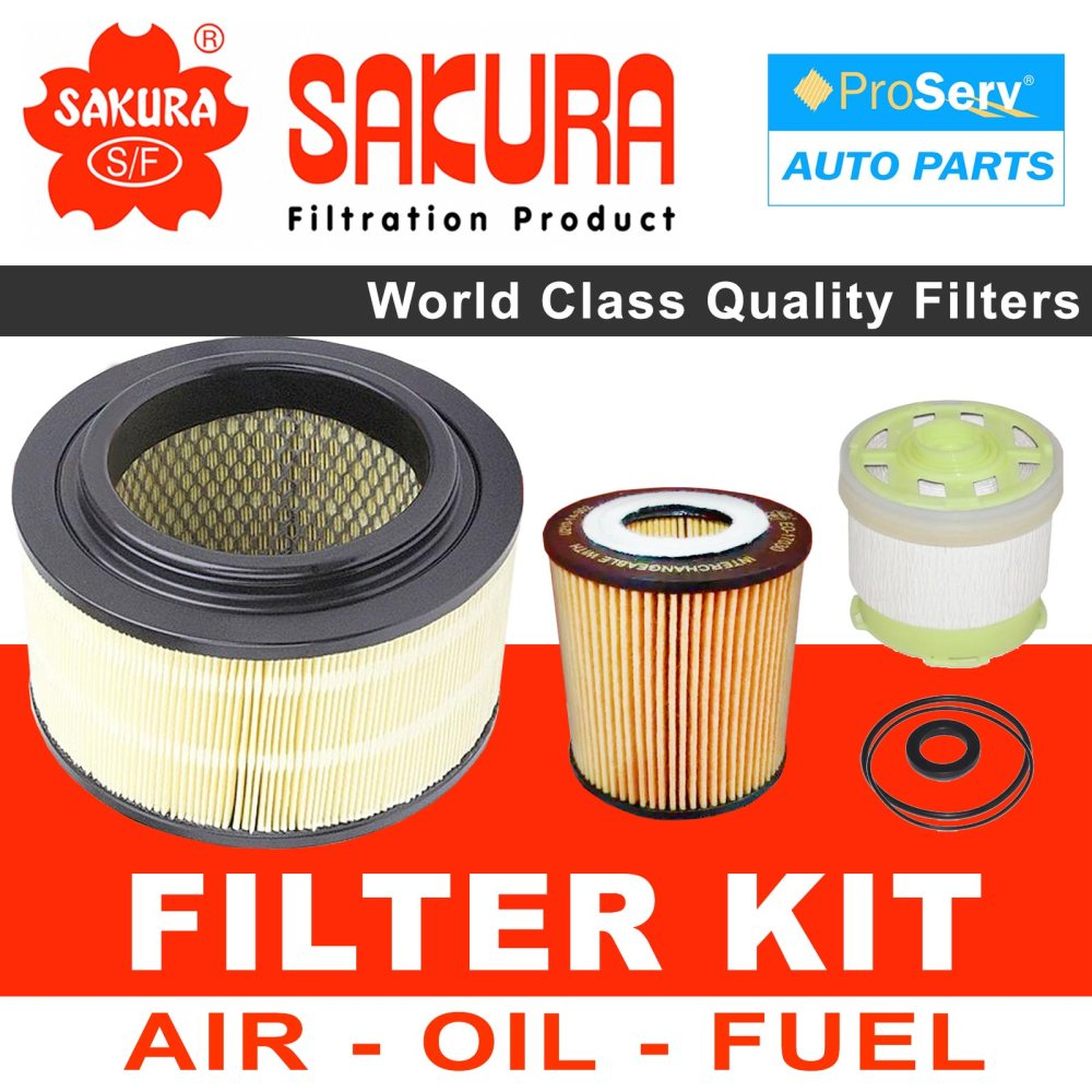 medium resolution of oil air fuel filter service kit for ford ranger px 2 2l diesel 2011 2015