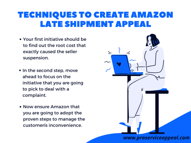 Techniques to create Amazon Late Shipment Appeal