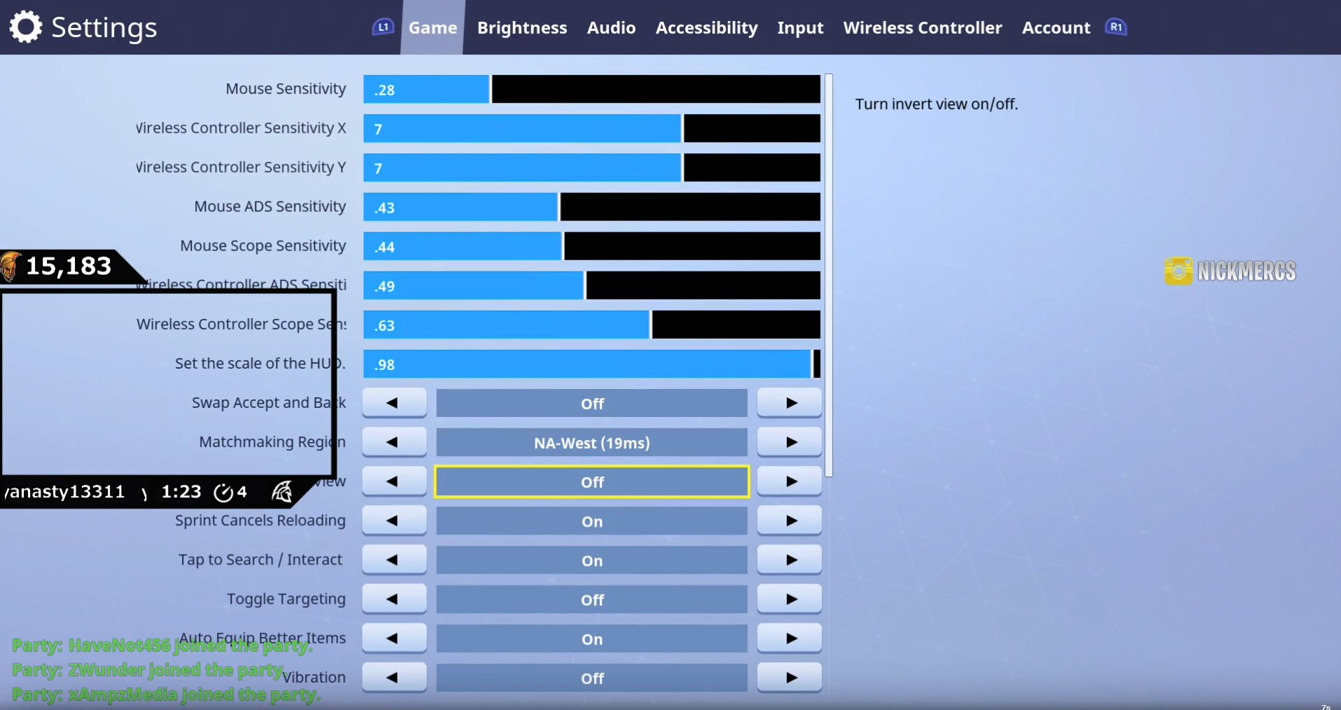 Svennoss Fortnite Settings Keybinds 2019
