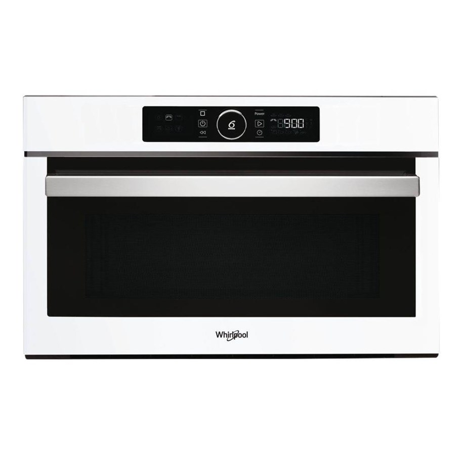 whirlpool amw 730 wh microwave oven with grill built in white
