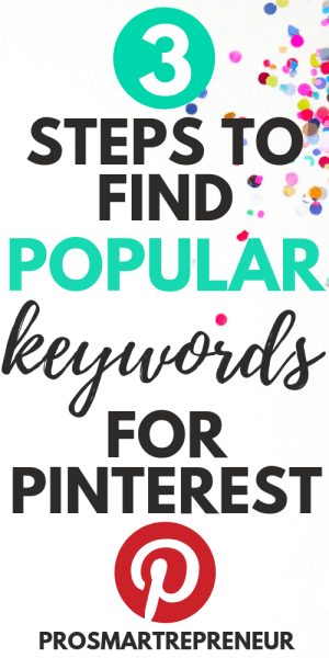 Keyword Planner – How To Find Keyword For Pinterest