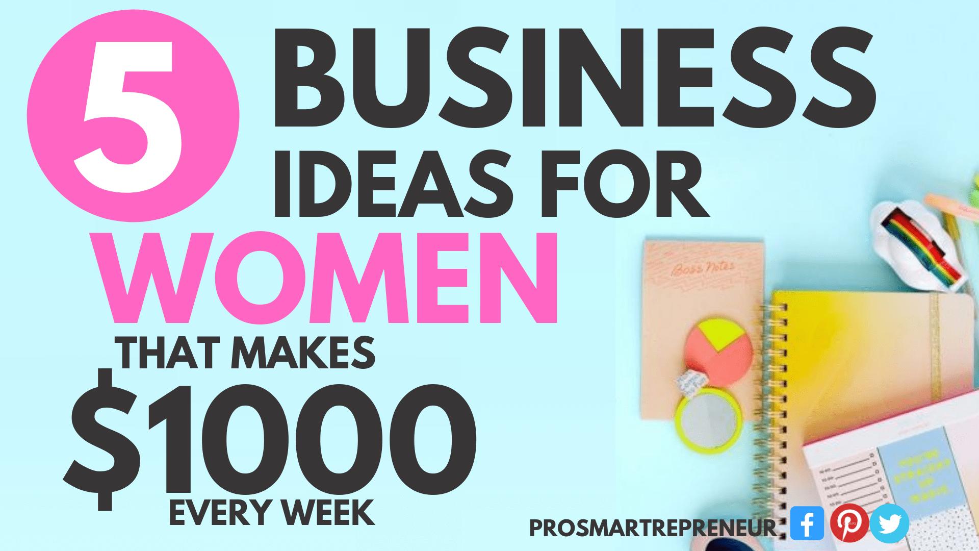 5 Lucrative Home Business Ideas for Women (3)-min