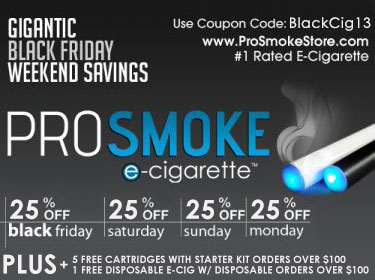 BLack Friday E-cigarette best sale
