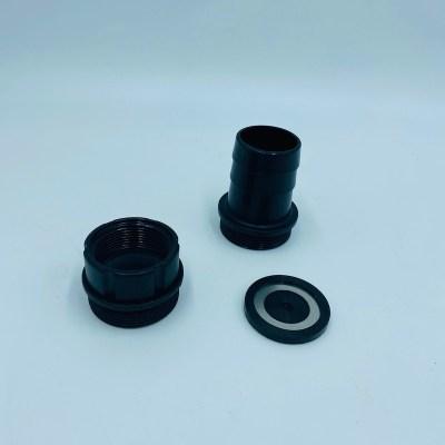 Accessoires TS40/10 avec embout taraudé 1'1/2, embout canelé, clapet anti retour