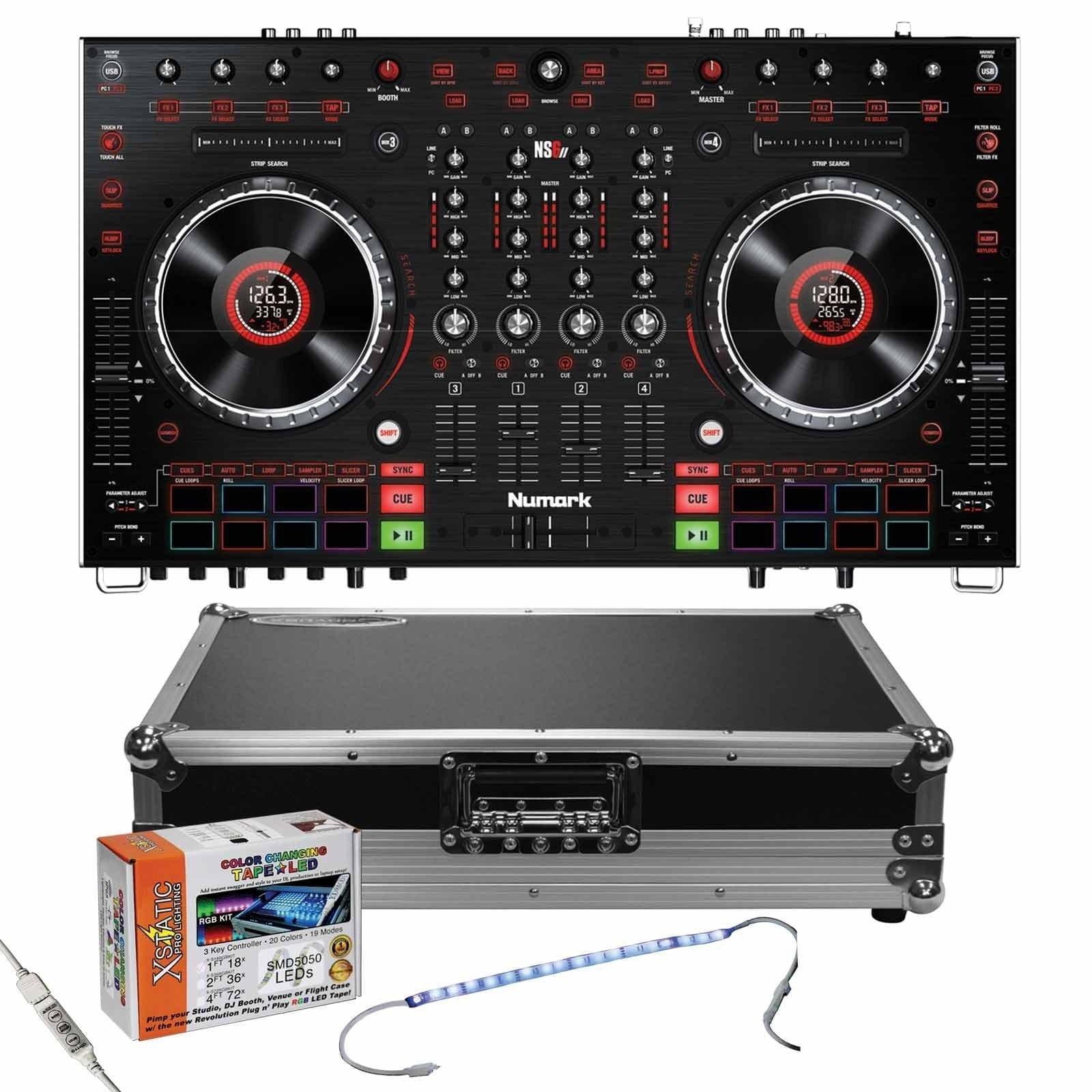 Numark Ns6ii 4 Channel Premium Dj Controller Amp Low Profile
