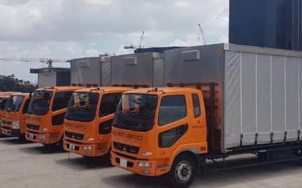 Lorry with driver and Transportation Services Singapore and Distribution Services Singapore