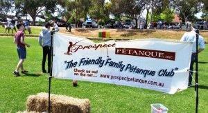 Prospect Petanque Club at the Prospect Spring Fair