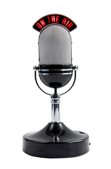 Photo: Old-fashioned microphone