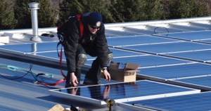 solar panels parkland college prospectus news Peter Floess
