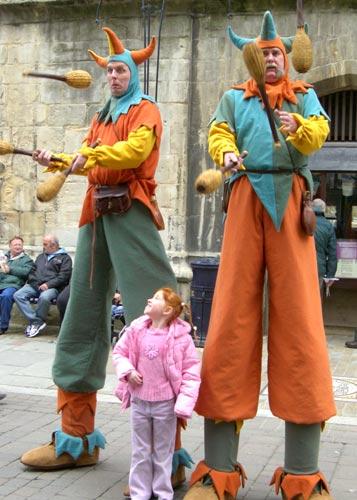 Medieval-Jesters-Stilt-Walk