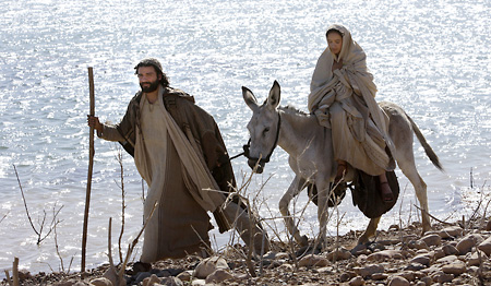Joseph and Mary went to Bethlehem, for the Census