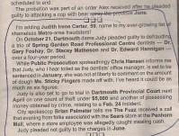 Nova Scotia's Judy Carter convicted of embezzling from prosthodontic practice