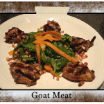 Goat Meat Dish