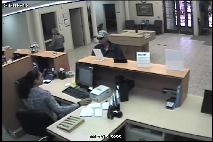 Independent Bank robbery suspect 1  Town of Prosper Texas