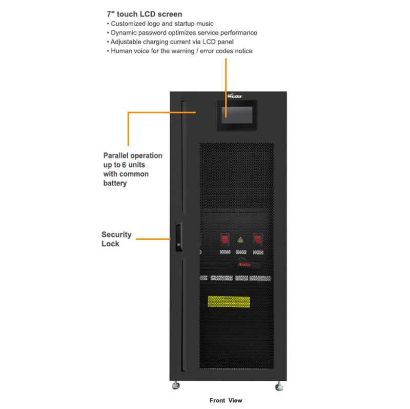 Prostar PF1 3 Phase High Frequency Online UPS Front View
