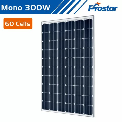 Prostar high energy efficiency monocrystalline solar panel 300w