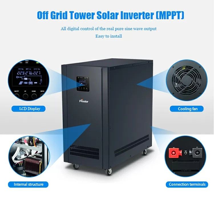 Off grid solar inverter information