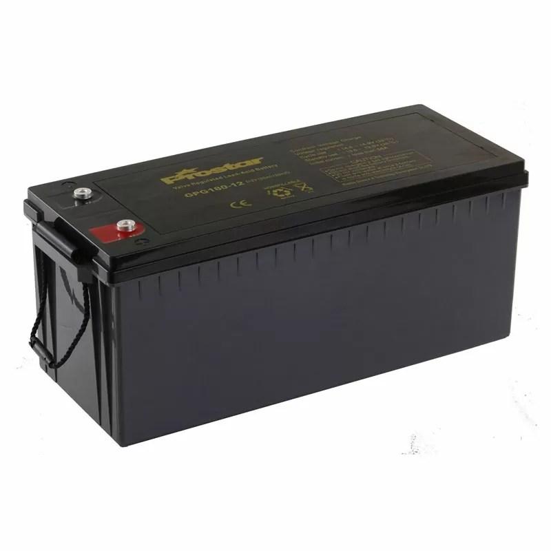 12v 180ah deep cycle solar battery