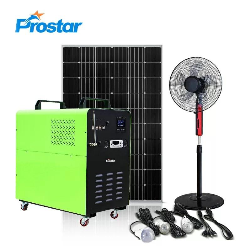3000w portable solar generator