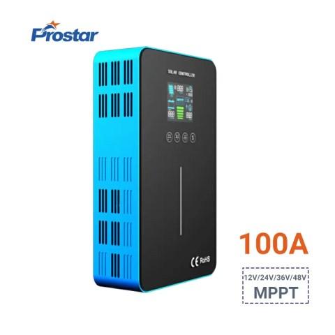 Prostar SunStar 100 amp solar charge controller mppt battery regulator