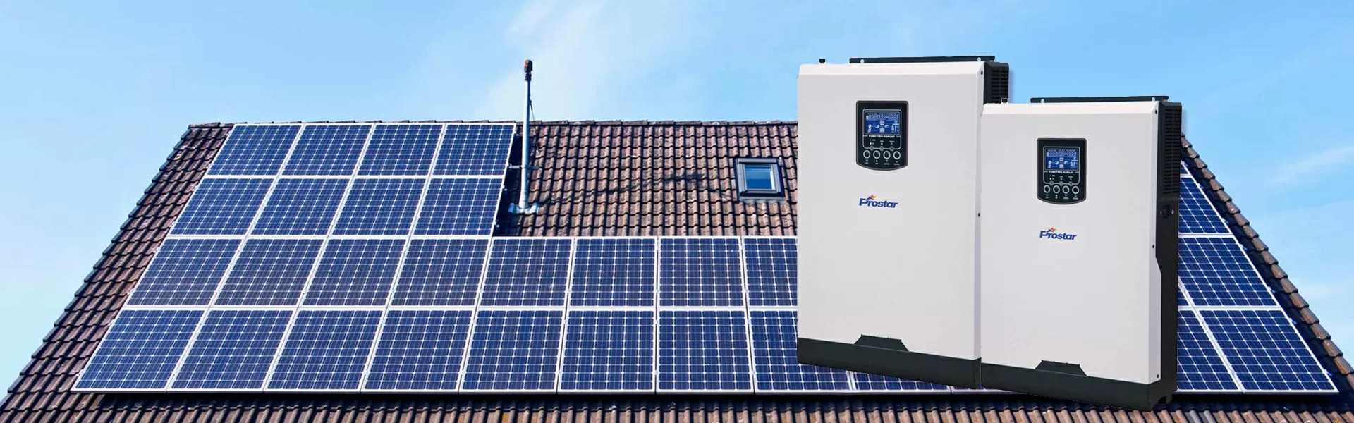 Off-grid Solar Inverter Working without Battery Bank