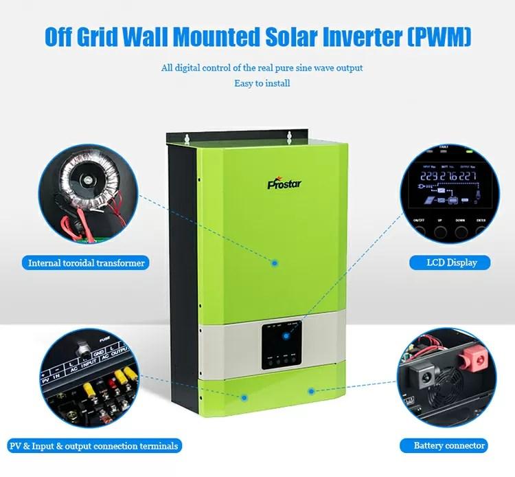 off grid solar inverter details