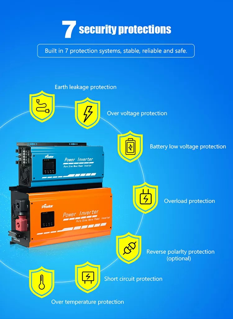Power inverter protection