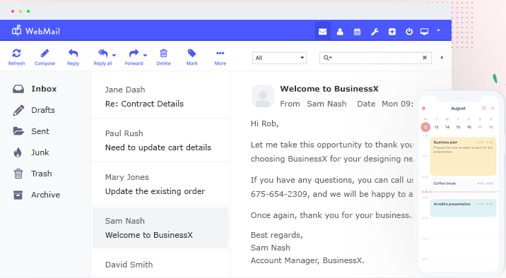 Professional Enterprise Email