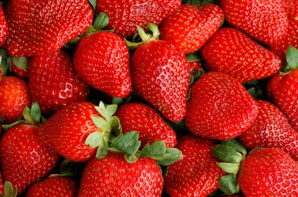 Contaminated foods include strawberries