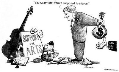 Image result for starving artist image