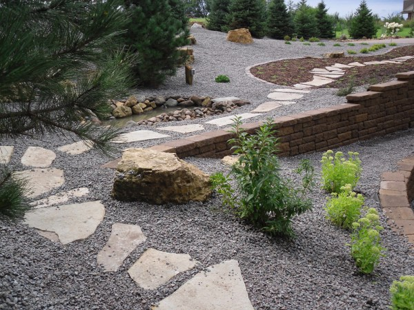 pro's touch landscaping complete