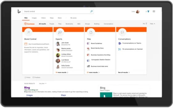 Microsoft unifying search across Bing, Office, and Windows   Industry