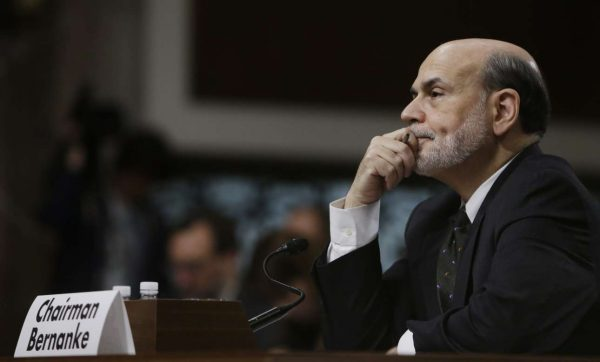 Federal-Reserve-Board-Chairman-Ben-Bernanke-listens-to-opening-remarks-before-testifying-at-the-Joint-Economic-Committee-in-Washington